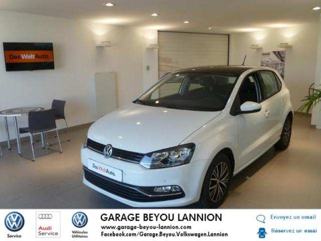 Voiture occasion volkswagen polo 1 4 tdi 90ch bluemotion for Garage peugeot lannion 22300