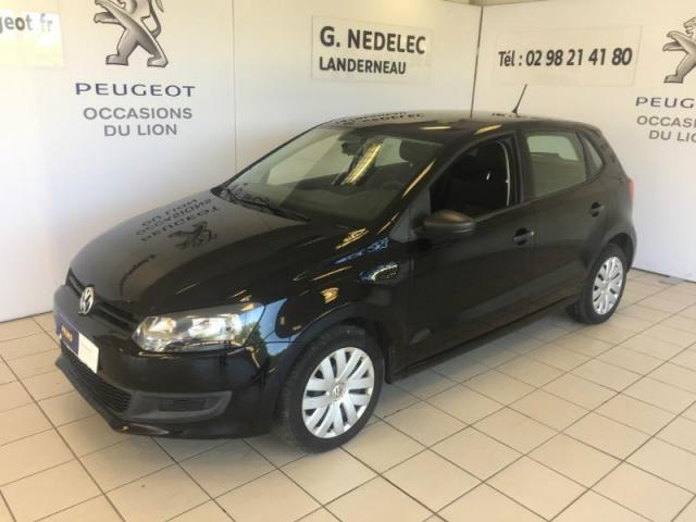 voiture occasion volkswagen polo 1 6 tdi 75ch fap confortline 5p 2009 diesel 29800 pencran. Black Bedroom Furniture Sets. Home Design Ideas