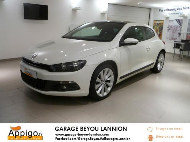 voiture occasion volkswagen scirocco 2 0 tdi 140ch fap carat dsg6 2011 diesel 22300 lannion. Black Bedroom Furniture Sets. Home Design Ideas