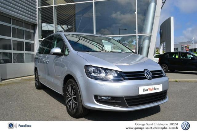voiture occasion volkswagen sharan 2 0 tdi 150ch bluemotion technology allstar 2016 diesel 29200. Black Bedroom Furniture Sets. Home Design Ideas