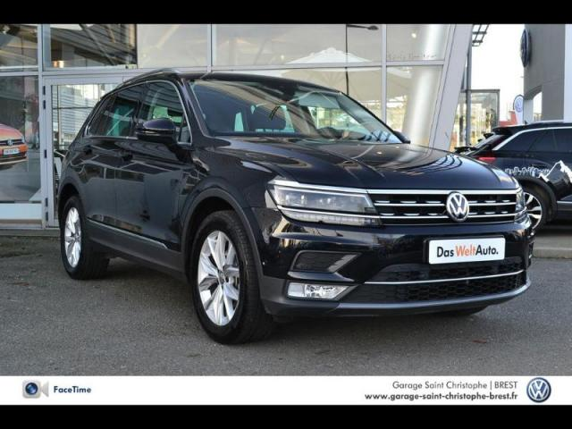 voiture occasion volkswagen tiguan 1 4 tsi 150ch act carat dsg6 2017 essence 29200 brest. Black Bedroom Furniture Sets. Home Design Ideas