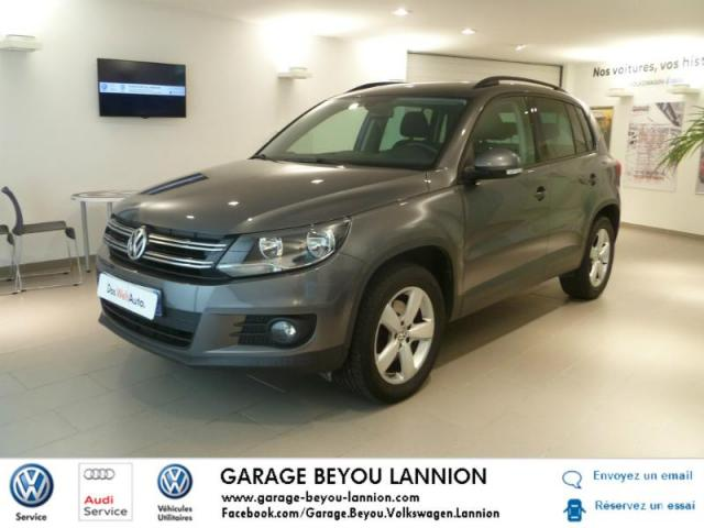 Voiture occasion volkswagen tiguan 2 0 tdi 110ch for Garage peugeot lannion 22300