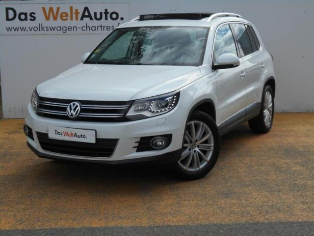 voiture occasion volkswagen tiguan 2 0 tdi 140 bluemotion carat 2014 diesel 28600 luisant eure. Black Bedroom Furniture Sets. Home Design Ideas
