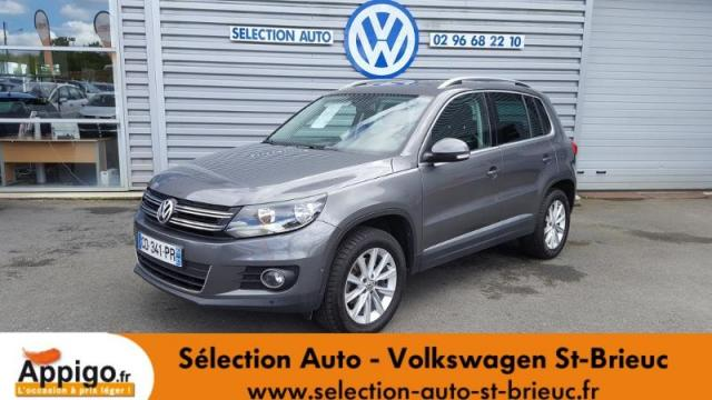 voiture occasion volkswagen tiguan 2 0 tdi 140ch bluemotion technology fap carat 4motion dsg7. Black Bedroom Furniture Sets. Home Design Ideas