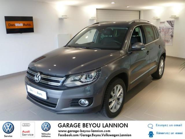 Voiture occasion volkswagen tiguan 2 0 tdi 140ch for Garage peugeot lannion 22300