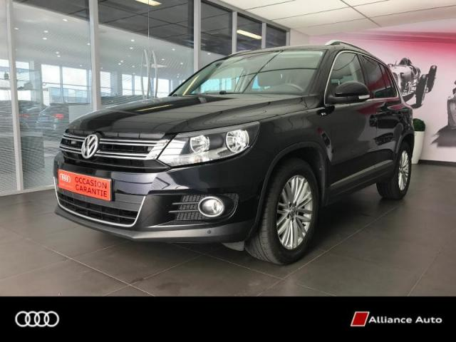 voiture occasion volkswagen tiguan 2 0 tdi 140ch bluemotion technology fap cup 2014 diesel 22300. Black Bedroom Furniture Sets. Home Design Ideas
