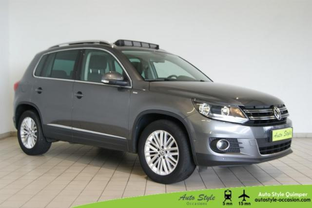 voiture occasion volkswagen tiguan 2 0 tdi 140ch bluemotion technology fap cup 2014 diesel 29000. Black Bedroom Furniture Sets. Home Design Ideas