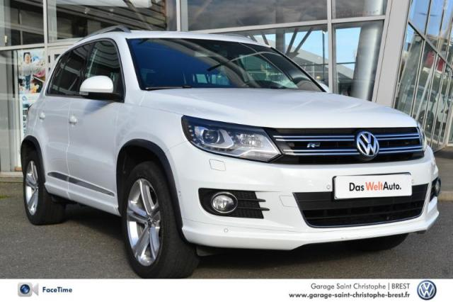 voiture occasion volkswagen tiguan 2 0 tdi 140ch bluemotion technology fap r exclusive 2014. Black Bedroom Furniture Sets. Home Design Ideas