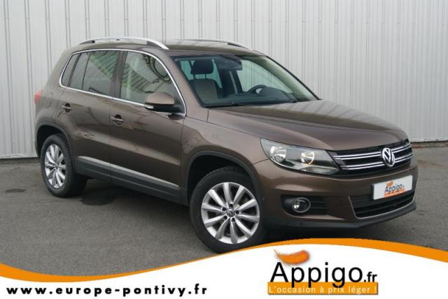 voiture occasion volkswagen tiguan 2 0 tdi 140ch bluemotion technology fap sportline 4motion. Black Bedroom Furniture Sets. Home Design Ideas