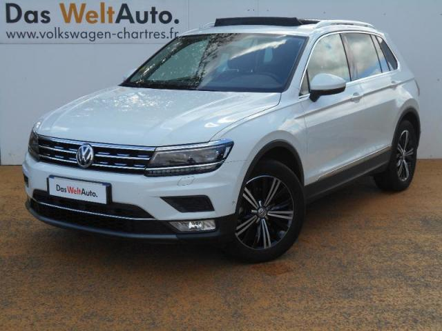 voiture occasion volkswagen tiguan 2 0 tdi 150 bmt carat. Black Bedroom Furniture Sets. Home Design Ideas