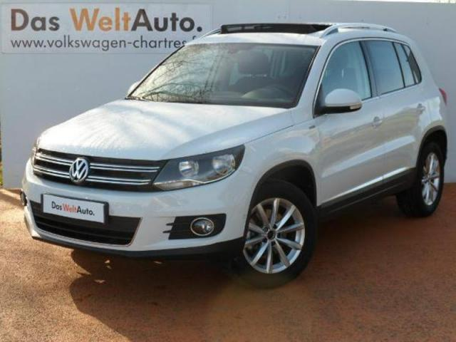 voiture occasion volkswagen tiguan 2 0 tdi 150 lounge 4m. Black Bedroom Furniture Sets. Home Design Ideas
