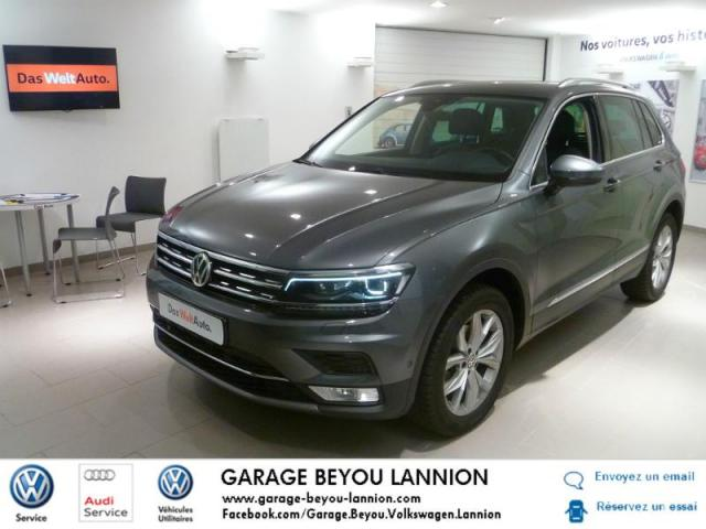 voiture occasion volkswagen tiguan 2 0 tdi 150ch bluemotion technology carat 4motion dsg7 2017. Black Bedroom Furniture Sets. Home Design Ideas