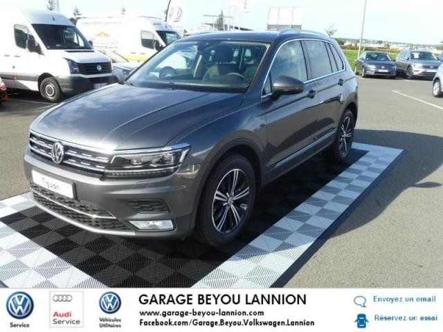 voiture occasion volkswagen tiguan 2 0 tdi 150ch bluemotion technology carat edition bvm6 2017. Black Bedroom Furniture Sets. Home Design Ideas