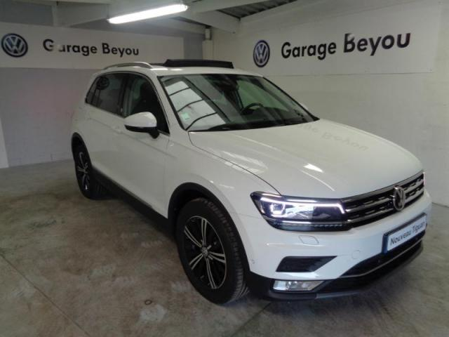 voiture occasion volkswagen tiguan 2 0 tdi 150ch bluemotion technology carat exclusive 2017. Black Bedroom Furniture Sets. Home Design Ideas