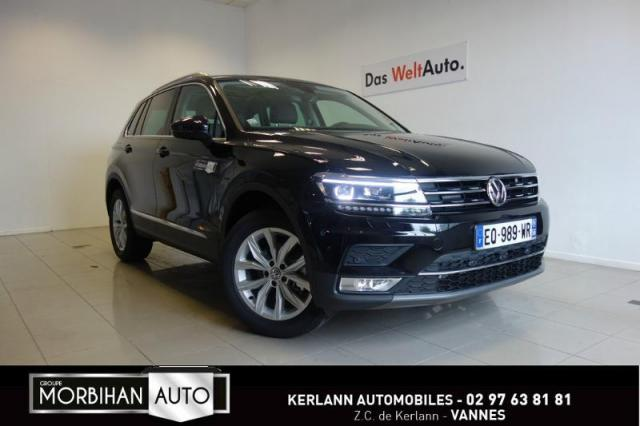 voiture occasion volkswagen tiguan 2 0 tdi 150ch bluemotion technology carat exclusive 4motion. Black Bedroom Furniture Sets. Home Design Ideas