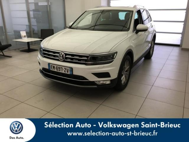 voiture occasion volkswagen tiguan 2 0 tdi 150ch carat dsg7 2017 diesel 22000 saint brieuc c tes. Black Bedroom Furniture Sets. Home Design Ideas