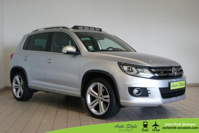 voiture occasion volkswagen tiguan 2 0 tdi 170ch fap carat 4motion 2012 diesel 29000 quimper. Black Bedroom Furniture Sets. Home Design Ideas