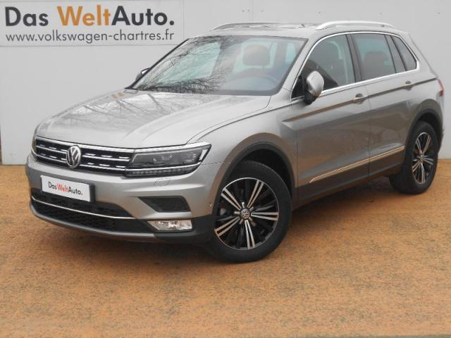 voiture occasion volkswagen tiguan ii 2 0 tdi 150 carat. Black Bedroom Furniture Sets. Home Design Ideas