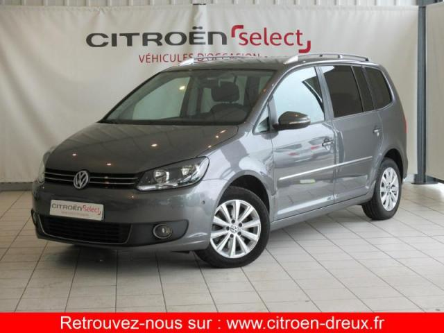 voiture occasion volkswagen touran 2 0 tdi 140ch fap carat dsg6 2012 diesel 28500 vernouillet. Black Bedroom Furniture Sets. Home Design Ideas
