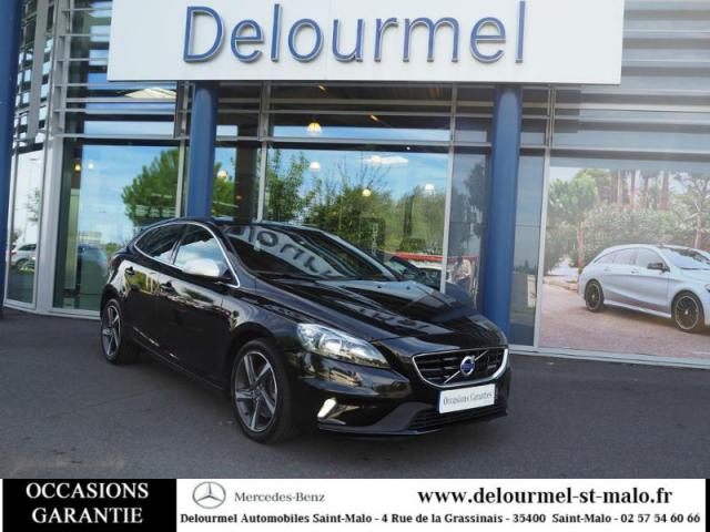 voiture occasion volvo v40 d3 150ch start stop r design 2014 diesel 35400 saint malo ille et. Black Bedroom Furniture Sets. Home Design Ideas