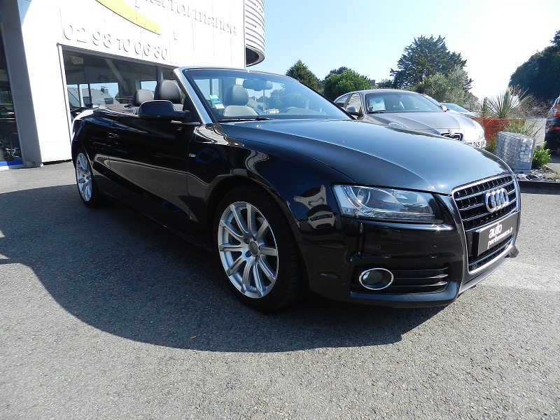 voiture occasion audi a5 2 0 tfsi s line multitronic 2009 essence 29000 quimper finist re. Black Bedroom Furniture Sets. Home Design Ideas