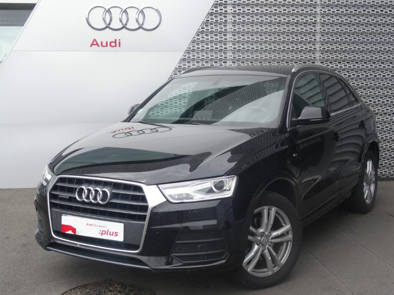 voiture occasion audi q3 2 0 tdi 184ch s line quattro s tronic 7 2015 diesel 28630 nogent le. Black Bedroom Furniture Sets. Home Design Ideas