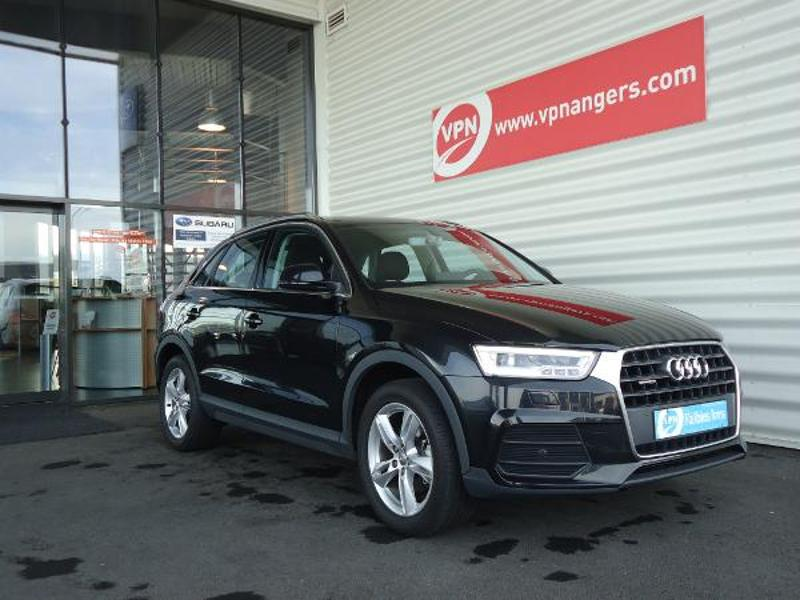 voiture occasion audi q3 tdi 184ch ambiluxe quattro stronic7 2016 diesel 49070 beaucouz maine. Black Bedroom Furniture Sets. Home Design Ideas