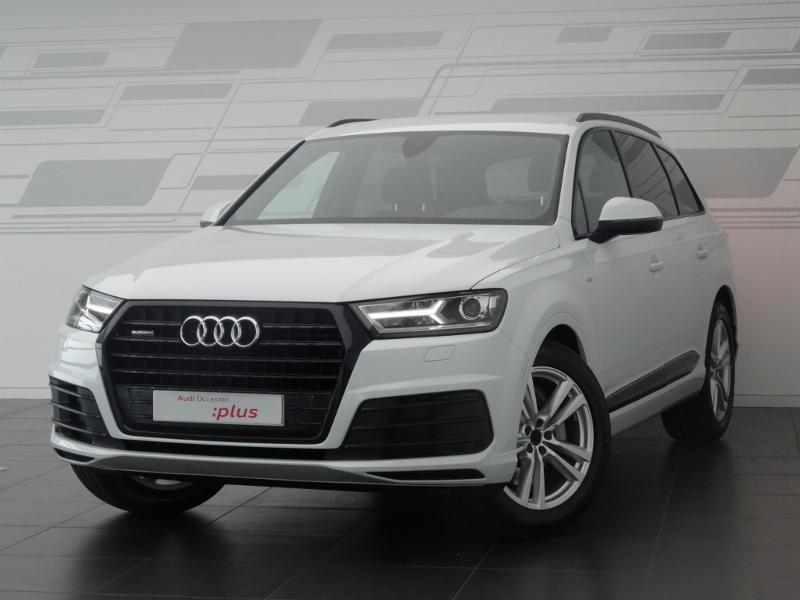 voiture occasion audi q7 3 0 v6 tdi 272ch clean diesel s line quattro tiptronic 7 places 2017. Black Bedroom Furniture Sets. Home Design Ideas