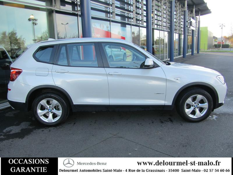 voiture occasion bmw x3 sdrive18d 150ch lounge plus 2015 diesel 35400 saint malo ille et vilaine. Black Bedroom Furniture Sets. Home Design Ideas
