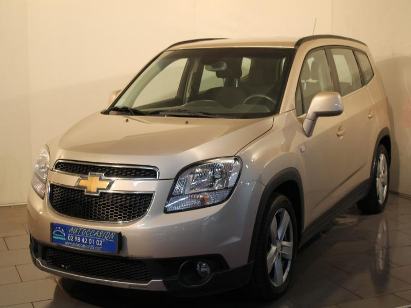 voiture occasion chevrolet orlando 2 0 vcdi 163 2012. Black Bedroom Furniture Sets. Home Design Ideas