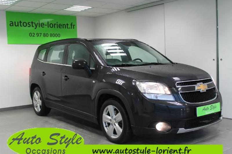 voiture occasion chevrolet orlando 2 0 vcdi163 ltz 2011. Black Bedroom Furniture Sets. Home Design Ideas