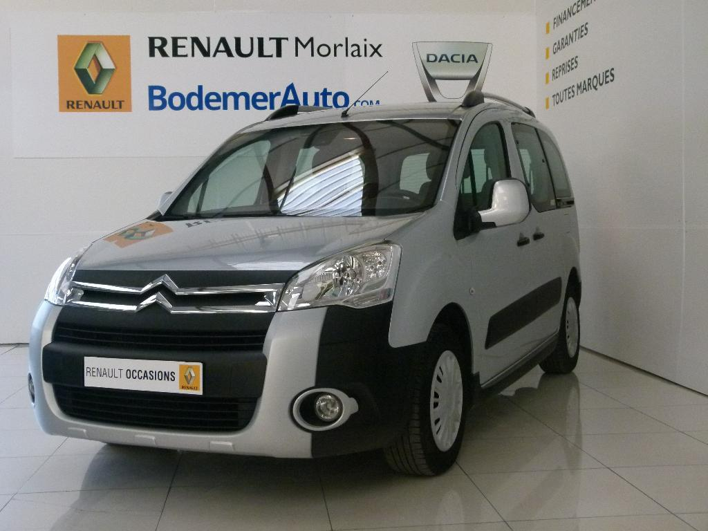 voiture occasion citroen berlingo multispace hdi 90 xtr 2012 diesel 29600 morlaix finist re. Black Bedroom Furniture Sets. Home Design Ideas