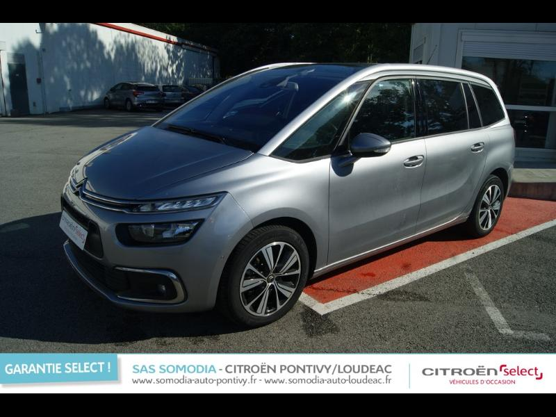 voiture occasion citroen grand c4 picasso bluehdi 120ch feel s s eat6 2017 diesel 56300 pontivy. Black Bedroom Furniture Sets. Home Design Ideas
