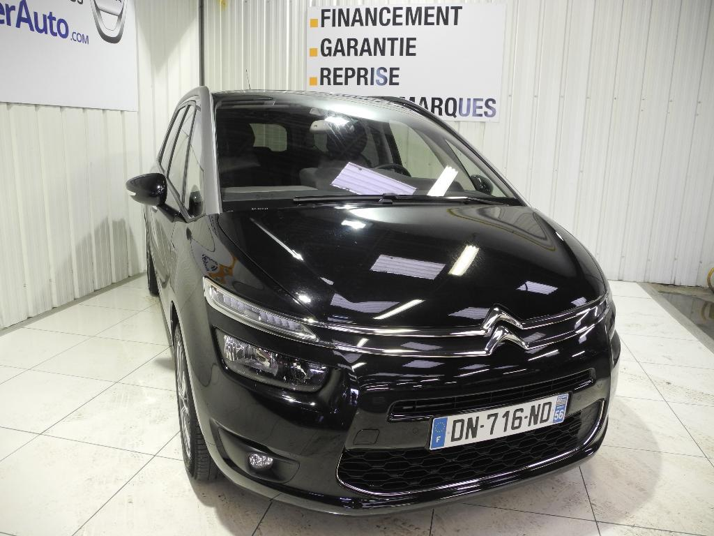 voiture occasion citroen grand c4 picasso e hdi 115 exclusive 2015 diesel 56000 vannes morbihan. Black Bedroom Furniture Sets. Home Design Ideas