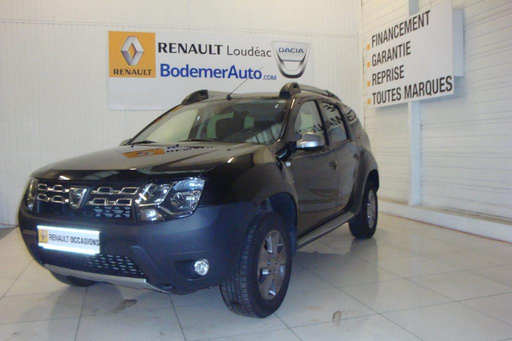 voiture occasion dacia duster 1 5 dci 110 4x4 prestige. Black Bedroom Furniture Sets. Home Design Ideas