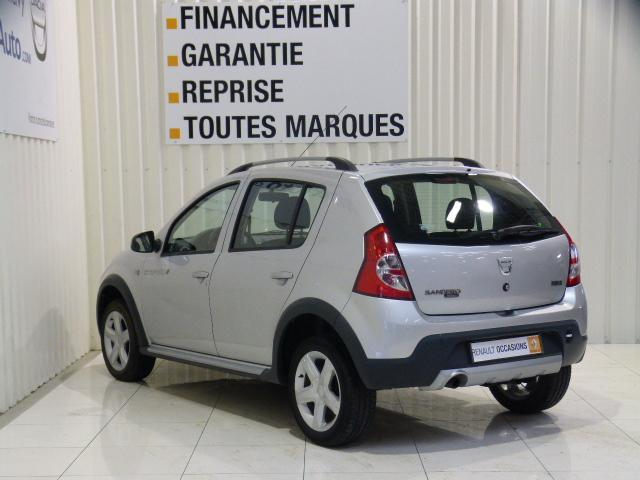 voiture occasion dacia sandero 1 5 dci 70 eco2 stepway 2011 diesel 56300 pontivy morbihan. Black Bedroom Furniture Sets. Home Design Ideas