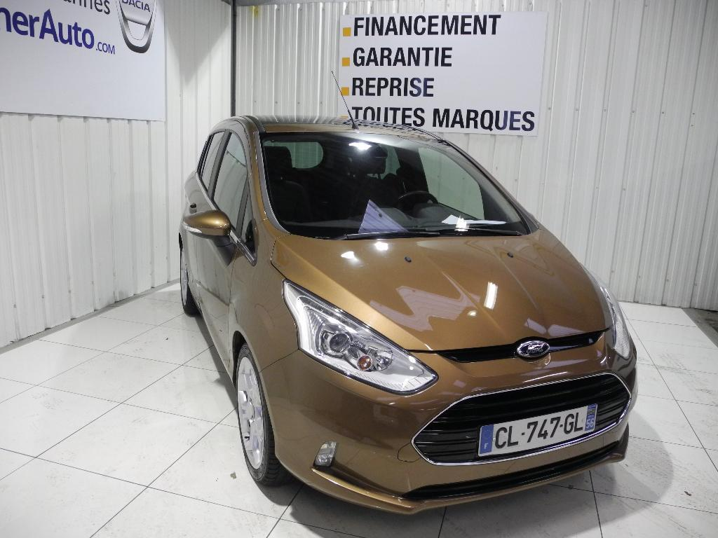 voiture occasion ford b max 1 6 tdci 95 fap titanium 2012 diesel 56000 vannes morbihan. Black Bedroom Furniture Sets. Home Design Ideas