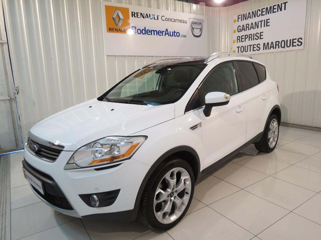 voiture occasion ford kuga 2 0 tdci 140 dpf 4x2 titanium 2011 diesel 29900 concarneau finist re. Black Bedroom Furniture Sets. Home Design Ideas