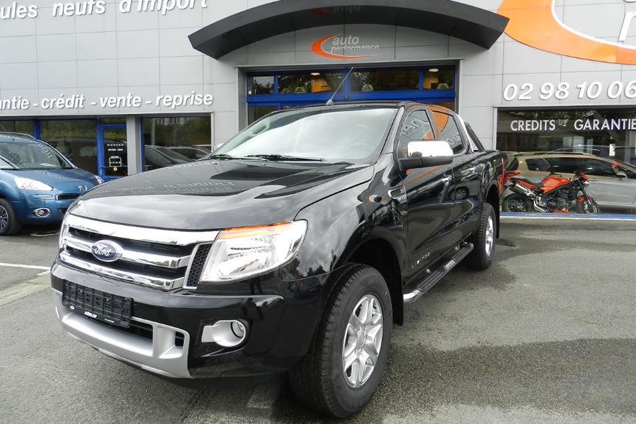 Voiture occasion ford ranger 3 2 tdci 200 double cabine for Garage ford ploermel occasion