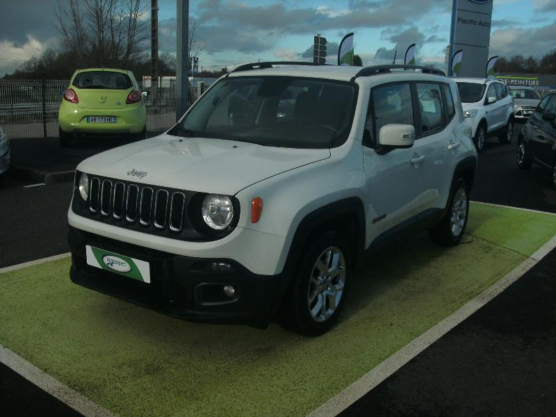 voiture occasion jeep renegade 1 6 jtd 120 longitude 2014 diesel 29600 morlaix finist re. Black Bedroom Furniture Sets. Home Design Ideas