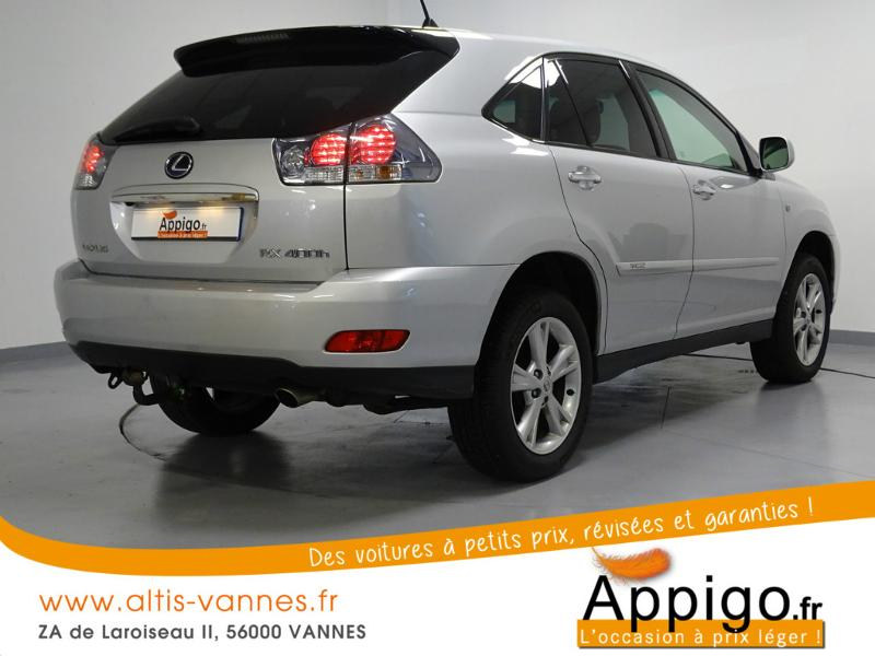 voiture occasion lexus rx 400h pack pr sident 2009 hybride 56000 vannes morbihan votreautofacile. Black Bedroom Furniture Sets. Home Design Ideas
