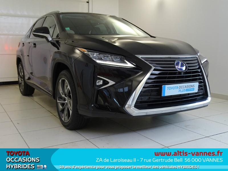 voiture occasion lexus rx 450h 4wd executive 2017 hybride 56000 vannes morbihan votreautofacile. Black Bedroom Furniture Sets. Home Design Ideas