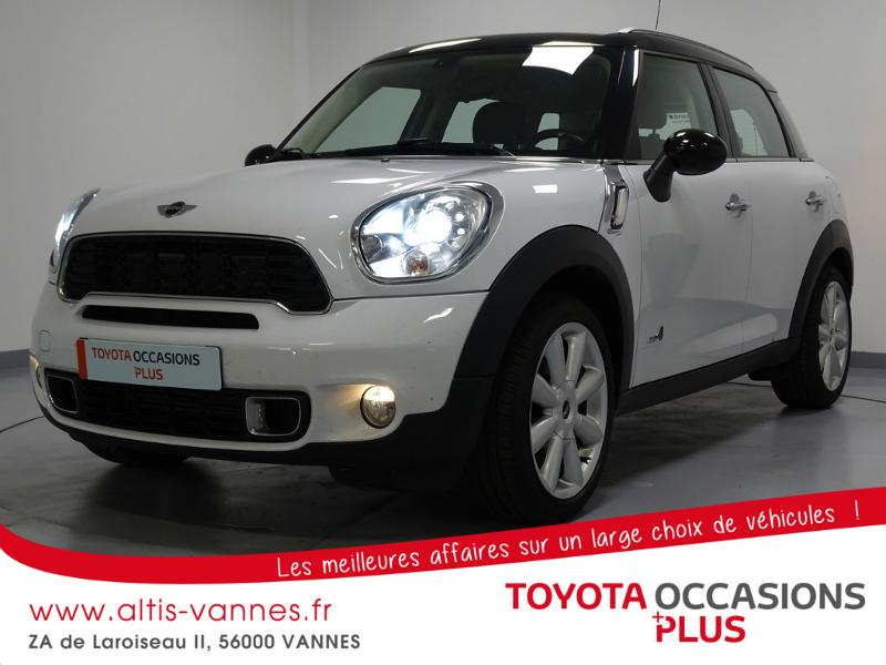 voiture occasion mini countryman cooper s 184ch all4 2011 essence 56000 vannes morbihan. Black Bedroom Furniture Sets. Home Design Ideas