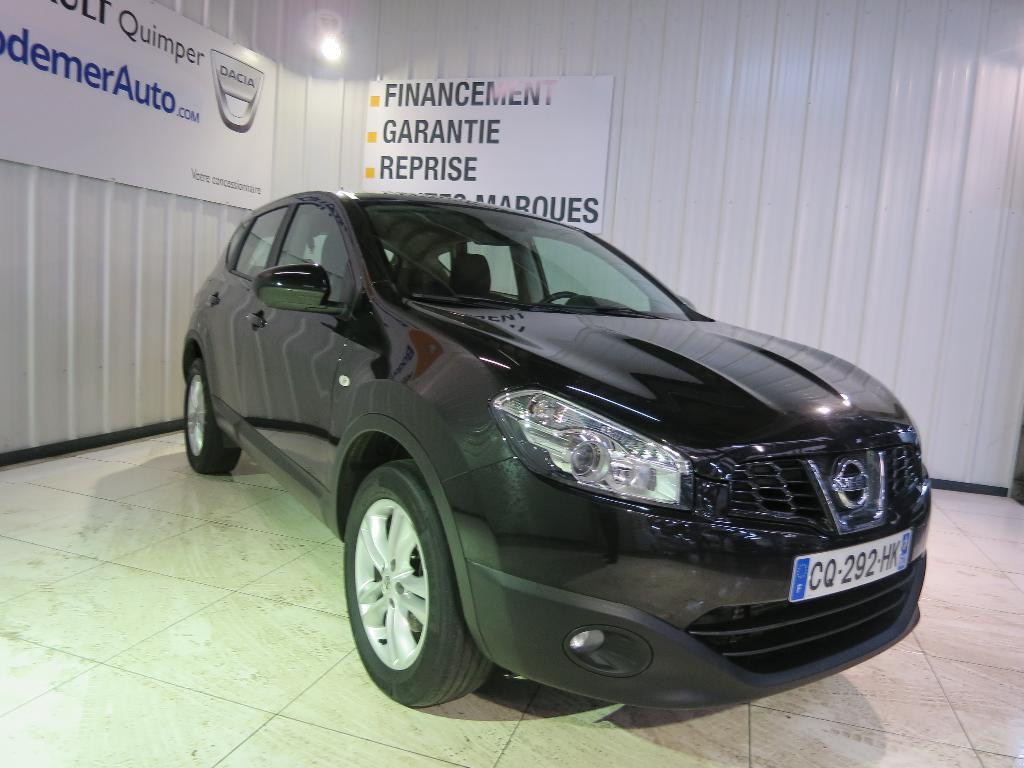 voiture occasion nissan qashqai 1 6 dci 130 fap stop start acenta navi 2013 diesel 29000 quimper. Black Bedroom Furniture Sets. Home Design Ideas