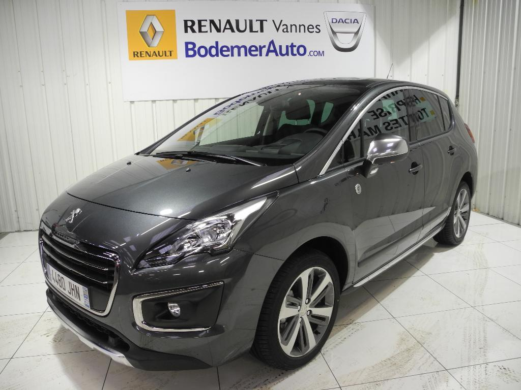 voiture occasion peugeot 3008 1 6 bluehdi 120ch s s bvm6 crossway 2015 diesel 56000 vannes. Black Bedroom Furniture Sets. Home Design Ideas