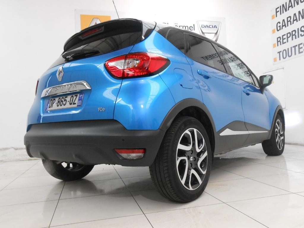 voiture occasion renault captur tce 120 intens edc 2015