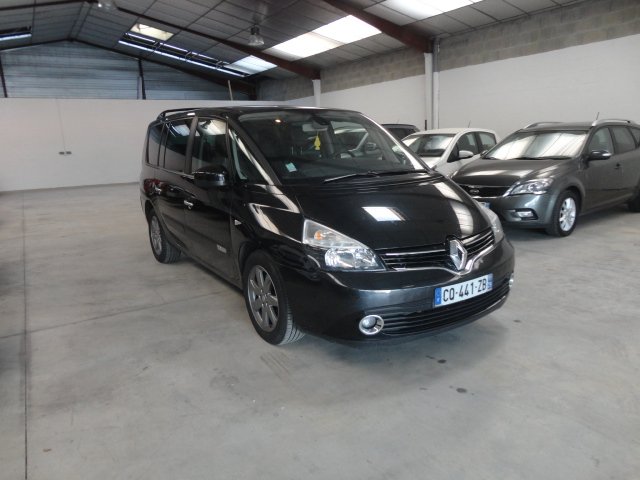 voiture occasion renault espace 2 0 dci 175 bva pack zen 7places 2013 diesel 56600 lanester. Black Bedroom Furniture Sets. Home Design Ideas