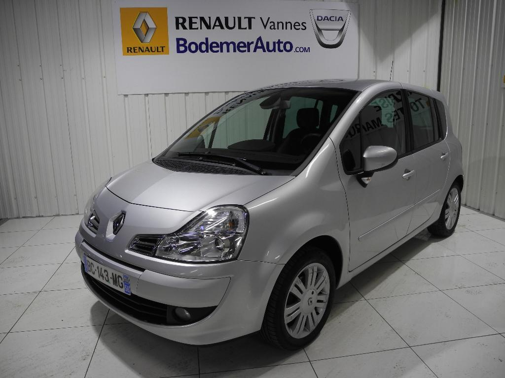 voiture occasion renault grand modus 1 5 dci 85 eco2 exception 2010 diesel 56000 vannes morbihan