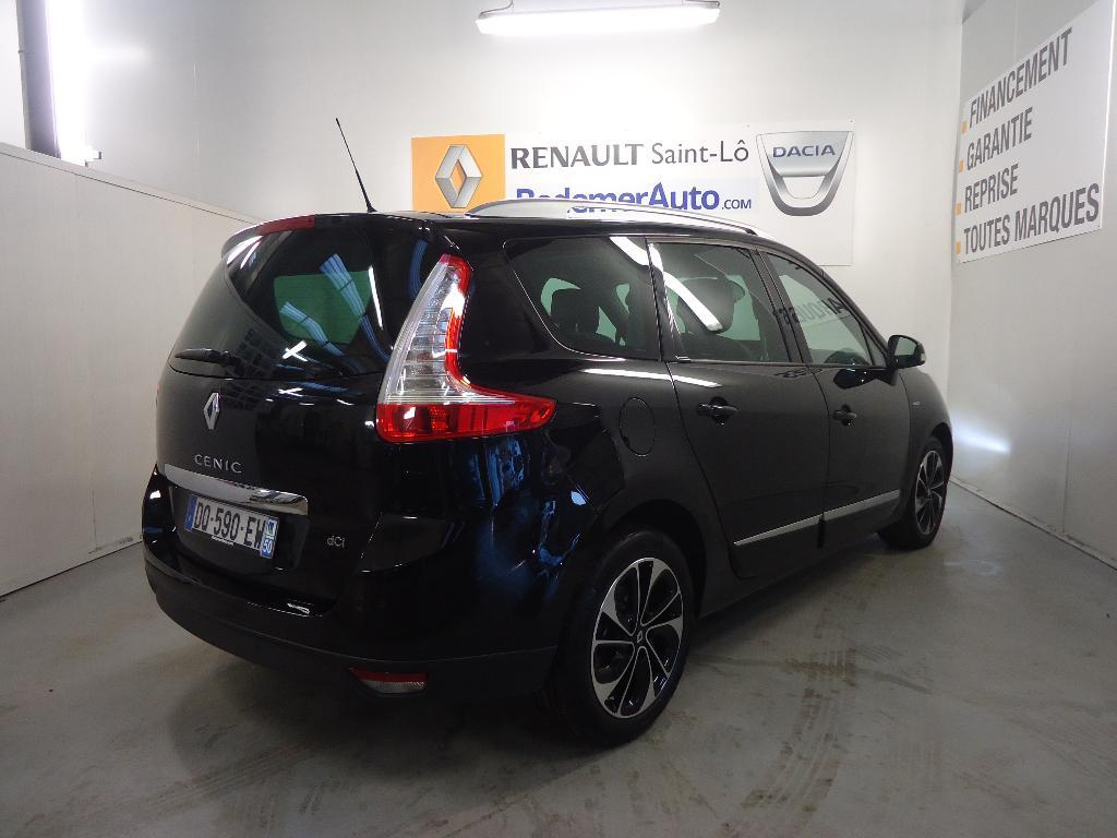 voiture occasion renault grand scenic iii dci 110 fap eco2 bose edc 7 pl 2015 diesel 50000 saint. Black Bedroom Furniture Sets. Home Design Ideas