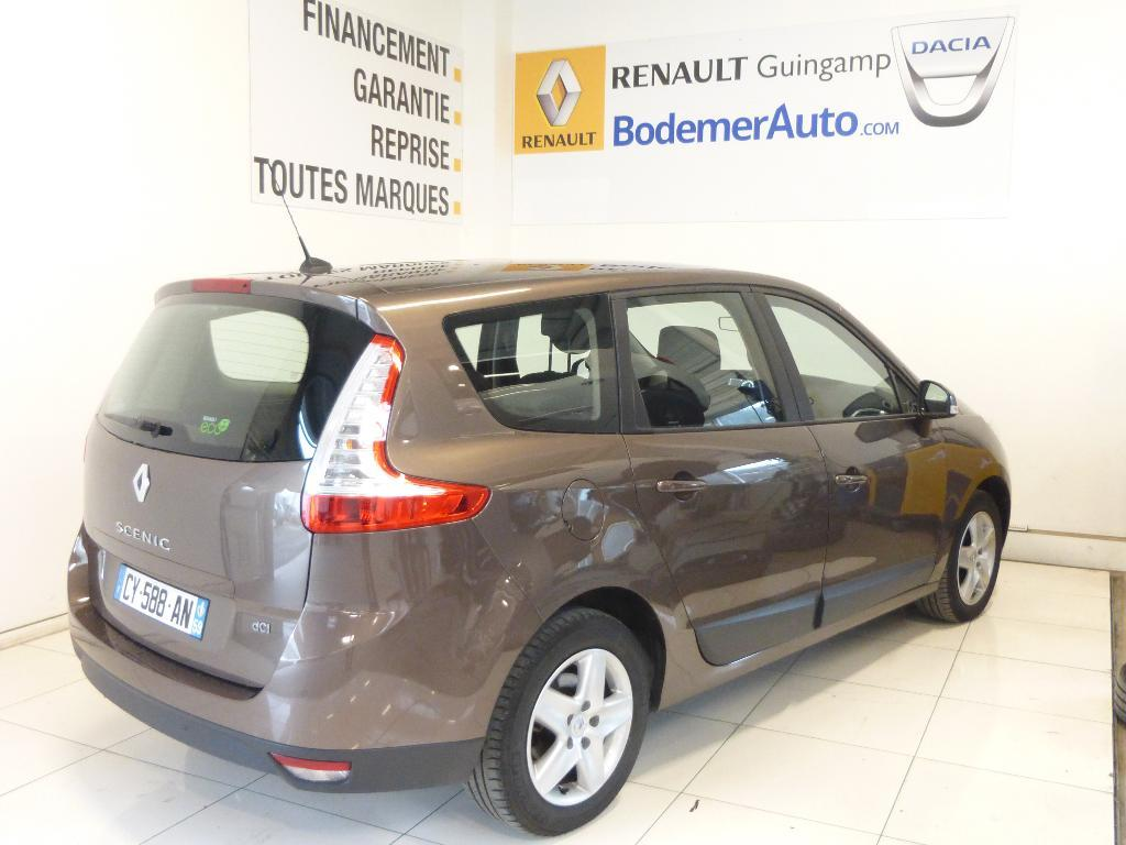 voiture occasion renault grand scenic iii dci 130 business energy 7 pl 2013 diesel 22970. Black Bedroom Furniture Sets. Home Design Ideas